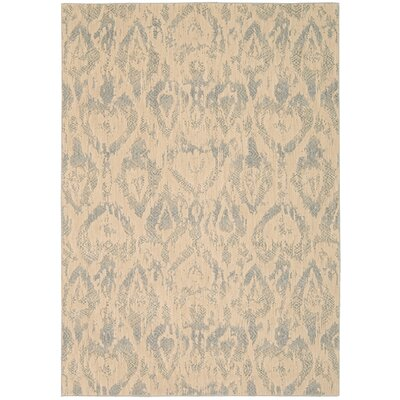 Shaima Gray/Beige Area Rug Rug Size: 96 x 13