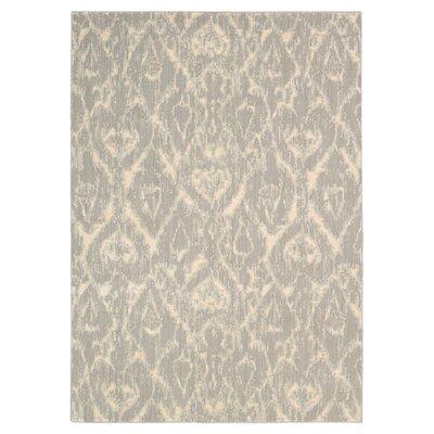 Shaima Gray/Beige Area Rug Rug Size: 36 x 56