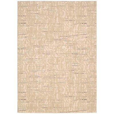 Shaima Sand Area Rug Rug Size: 36 x 56