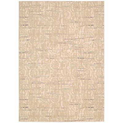 Shaima Sand Area Rug Rug Size: 53 x 75