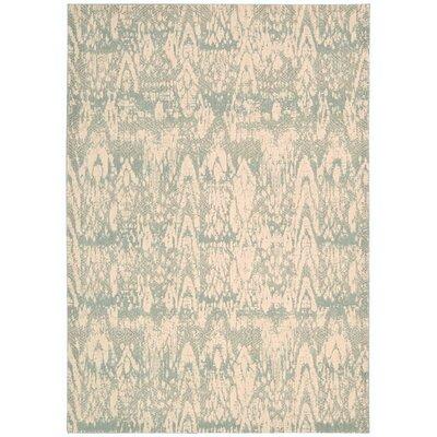 Shaima Seafoam Area Rug Rug Size: 79 x 1010