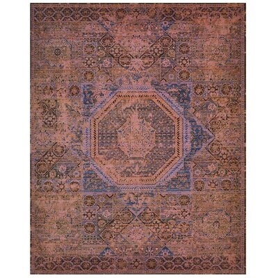 Dunsmuir Blush Area Rug Rug Size: Rectangle 86 x 116