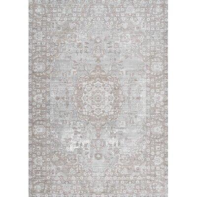 Dakhla Beige Area Rug Rug Size: 53 x 77