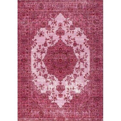 Dakhla Pink Area Rug Rug Size: 9 x 12
