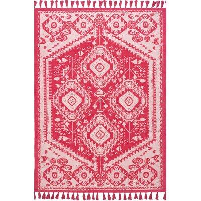 Quartier Hand-Woven Pink Area Rug