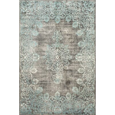 David Blue Area Rug Rug Size: Rectangle 9 x 12