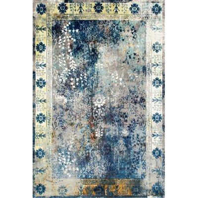 Dabachi Blue Area Rug Rug Size: 5 x 8