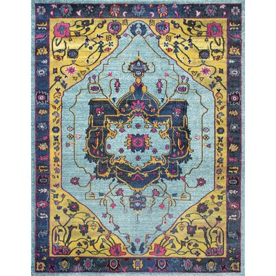 Fajardo Area Rug Rug Size: Rectangle 53 x 77