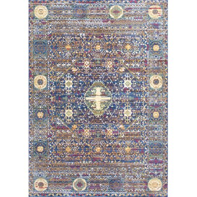 Fallsview Purple Area Rug Rug Size: 53 x 77