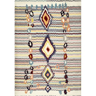 Fatoumata Beige Area Rug Rug Size: Rectangle 4 x 6