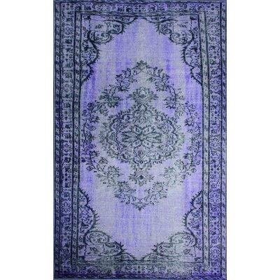 Ahoskie Purple Area Rug Rug Size: 92 x 125