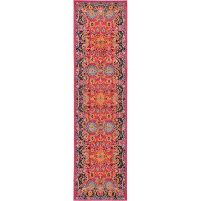 Iris Area Rug Rug Size: Runner 27 x 10