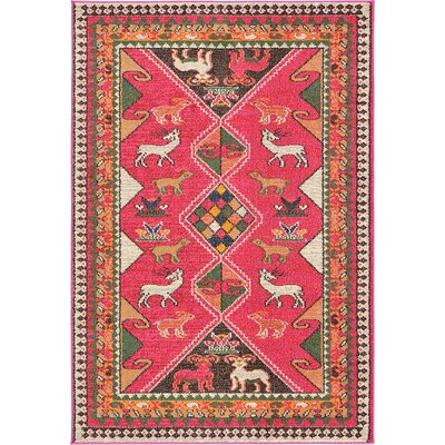 Bungalow Rose Rohini Pink Area Rug