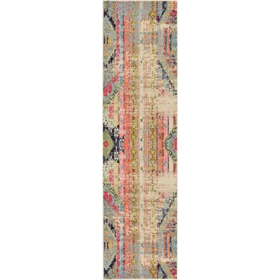 Rohini Light Blue Area Rug Rug Size: Runner 2' x 7'