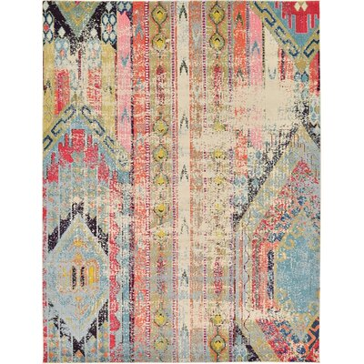 Rohini Multicolor Area Rug Rug Size: 9 x 12