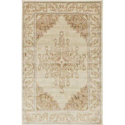 Cadencia Brown Area Rug Rug Size: Square 8