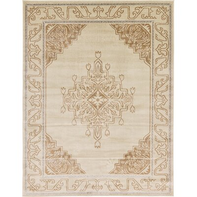 Cadencia Brown Area Rug Rug Size: 9 x 12