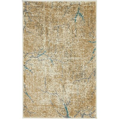 Sepe Light Brown Area Rug Rug Size: Round 8
