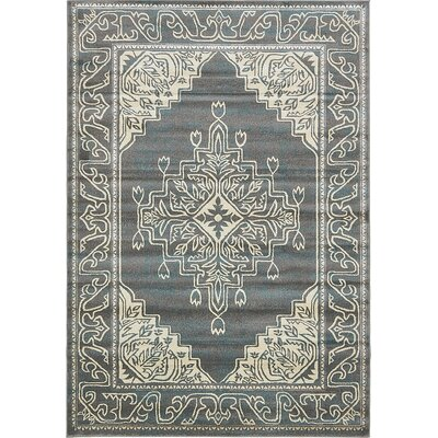 Cadencia Gray Area Rug Rug Size: Rectangle 9 x 12