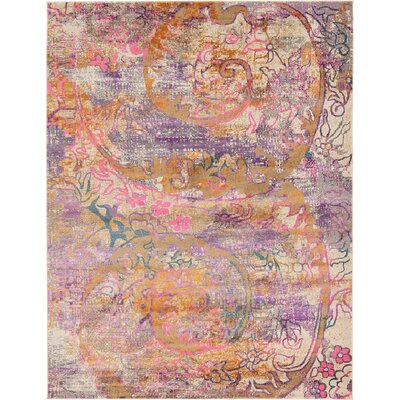 Charlena Abstract Area Rug Rug Size: 9 x 12
