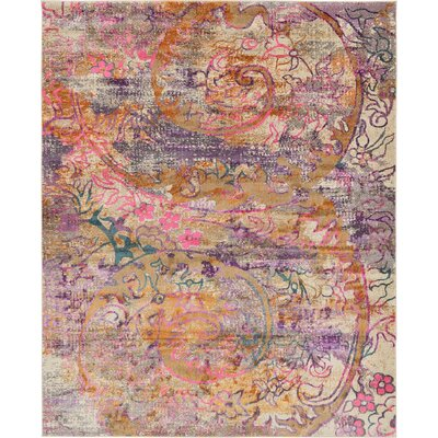 Charlena Abstract Area Rug Rug Size: 8 x 10