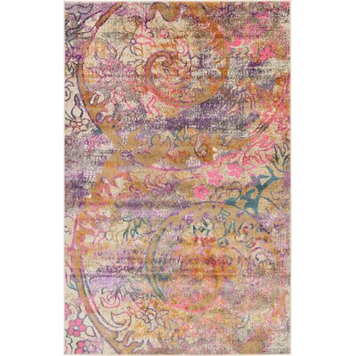 Charlena Abstract Area Rug Rug Size: 5 x 8