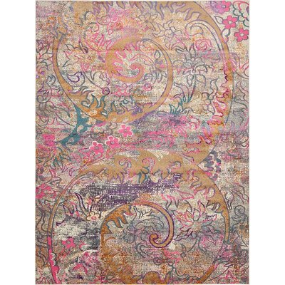 Charlena Abstract Area Rug Rug Size: 10 x 13