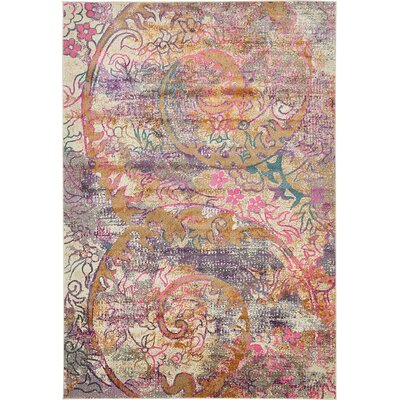 Charlena Abstract Area Rug Rug Size: 7 x 10