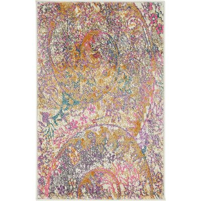 Charlena Abstract Area Rug Rug Size: 2 x 3