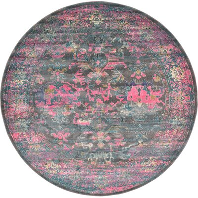 Sepe Area Rug Rug Size: Round 8