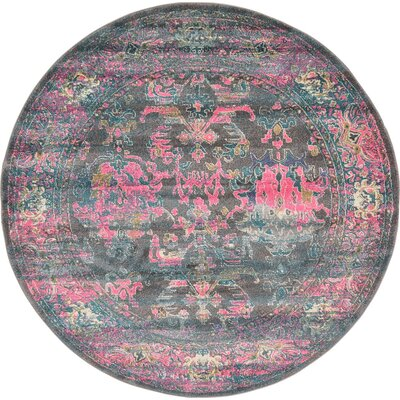 Sepe Area Rug Rug Size: Round 6