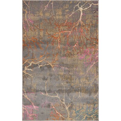Bungalow Rose Sepe Gray Area Rug
