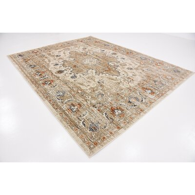 Sepe Beige Area Rug Rug Size: Rectangle 6 x 9
