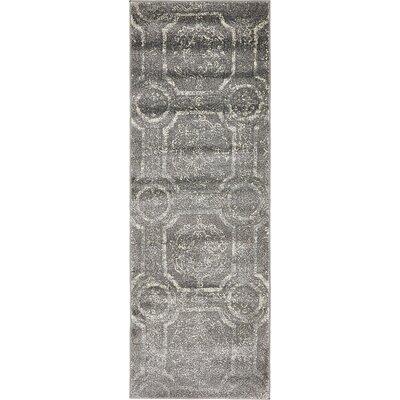 Sepe Dark Gray Area Rug Rug Size: Runner 22 x 6