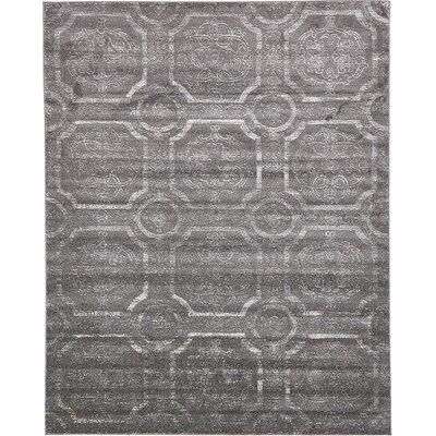 Sepe Dark Gray Area Rug Rug Size: 8 x 10