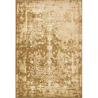 Vikram Gold Area Rug Rug Size: 10 x 145