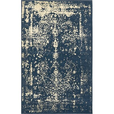 Vikram Navy Blue Area Rug