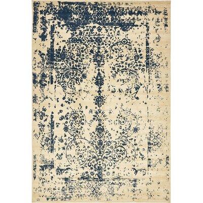 Vikram Beige Area Rug Rug Size: 10' x 14'5