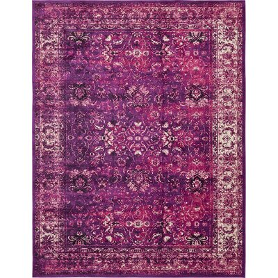 Yareli Lilac/Violet Area Rug Rug Size: 13 x 198