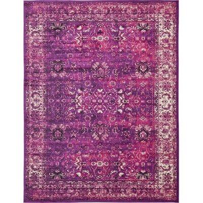 Yareli Lilac/Violet Area Rug Rug Size: 10' x 13'