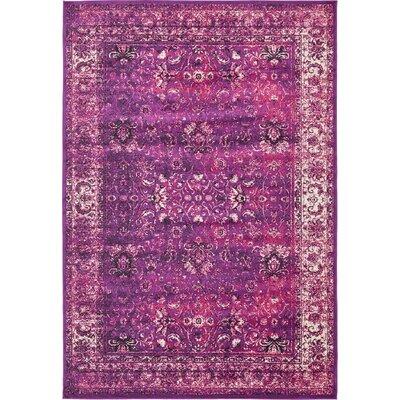 Yareli Lilac/Violet Area Rug Rug Size: 8 x 116
