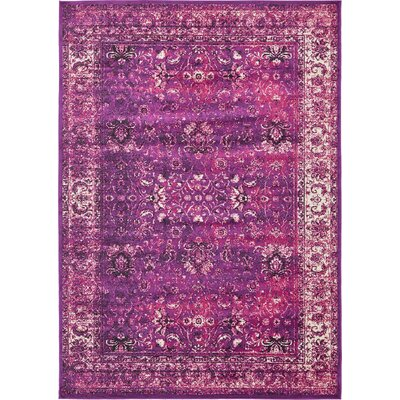 Yareli Lilac/Violet Area Rug Rug Size: 7 x 10