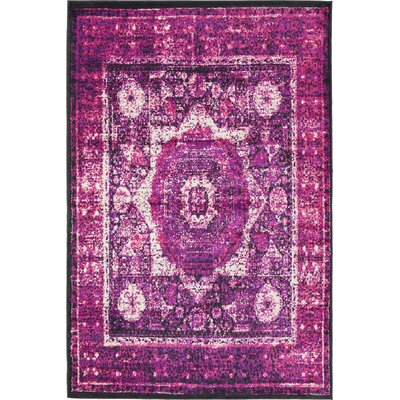 Marival Violet/Ivory Area Rug