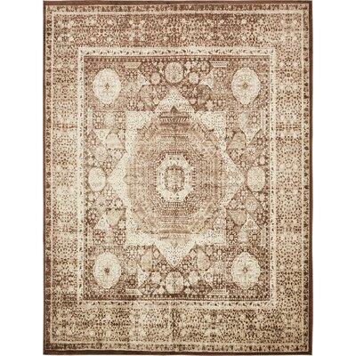 Yareli Brown/Beige Area Rug Rug Size: 10' x 13'