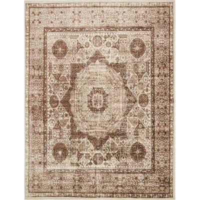 Yareli Beige/Brown Area Rug Rug Size: 13' x 19'8
