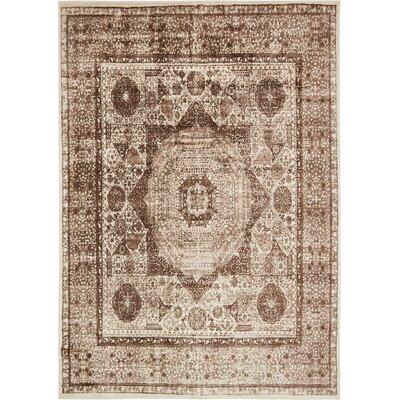 Yareli Beige/Brown Area Rug Rug Size: 8 x 116