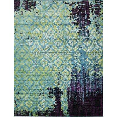 Yareli Blue/Violet Area Rug Rug Size: 13 x 198