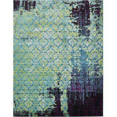 Yareli Blue/Violet Area Rug Rug Size: 10' x 13'