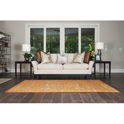 Yareli Orange/Brown Area Rug Rug Size: 5 x 8