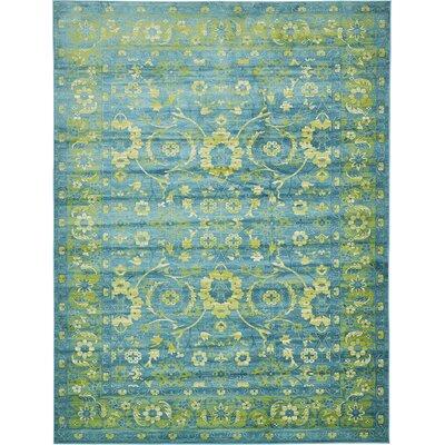 Yareli Blue/Green Area Rug Rug Size: 13 x 198